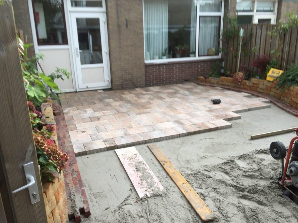 Tuin aanleg en tuin bestrating daniël snijders