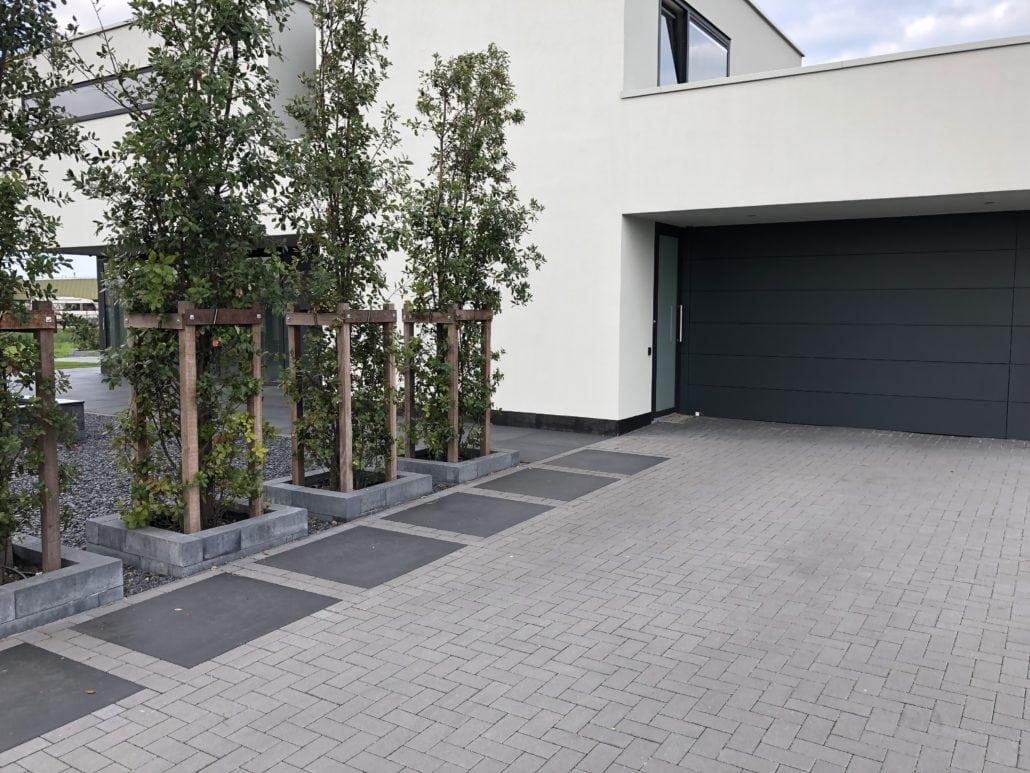 Bestrating strakke tuin Daniël Snijders