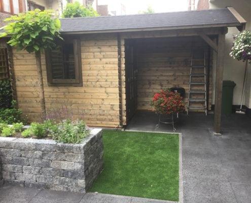 Aanleg tuin en plantenbak maken